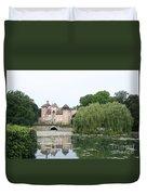Chateau De Sercy - Burgundy Duvet Cover