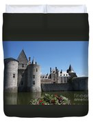 Chateau De Sully-sur-loire View Duvet Cover