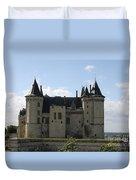 Chateau Saumur - France Duvet Cover