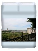Chateau Vilandry And Garden View Duvet Cover