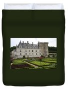 Chateau Villandry - Usefulness And Ornament  Duvet Cover