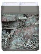 Chatham Dockyard Memorial Duvet Cover