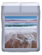 Chatham Sunset Square Duvet Cover by Bill Wakeley