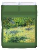 Chatou After Renoir Duvet Cover