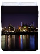 Chattanooga At Night Duvet Cover
