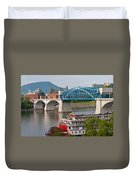 Chattanooga Riverfront Duvet Cover