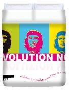 Che Guevara - Revolution Now Duvet Cover