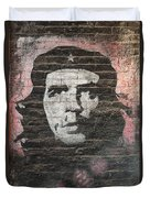 Che Guevara Wall Art In China Duvet Cover