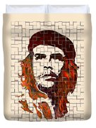 Che Guevara Watercolor Painting Duvet Cover
