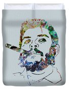 Che Watercolor Duvet Cover