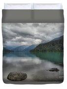 Cheakamus Lake Reflections Duvet Cover