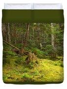 Cheakamus Rainforest Floor Duvet Cover
