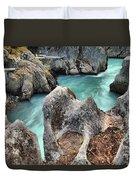 Cheakamus River Channel Duvet Cover