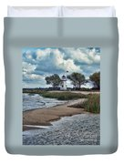 Cheboygan Crib Lighthouse #18 Duvet Cover
