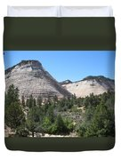 Checkerboard Mesa Duvet Cover