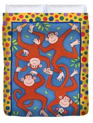 Cheeky Monkeys Wc Duvet Cover