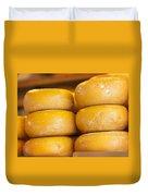 Cheese Wheels Duvet Cover