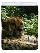 Cheetah 2 Duvet Cover