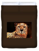 Cheetah Artwork Duvet Cover