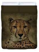 Cheetah Face Duvet Cover
