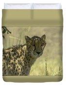 Cheetah Gaze Duvet Cover