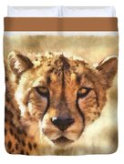 Cheetah One Duvet Cover