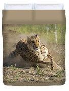 Cheetah Run 2 Duvet Cover