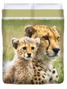 Cheetah Two Duvet Cover