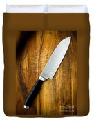 Chef's Knife Duvet Cover