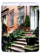 Chelsea Brownstone Duvet Cover