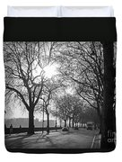 Chelsea Embankment London 2 Uk Duvet Cover