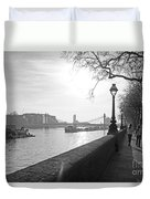 Chelsea Embankment London Uk 3 Duvet Cover