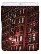 Chelsea Hotel Duvet Cover