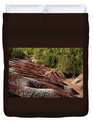 Mars On Earth - Cheltenham Badlands Ontario Canada Duvet Cover
