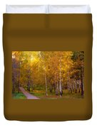 Cherished By Sun Duvet Cover