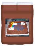 Celebration To Cherished Friends Duvet Cover
