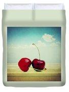 Cherries Love Duvet Cover