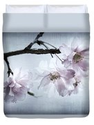 Cherry Blossom Sweetness Duvet Cover