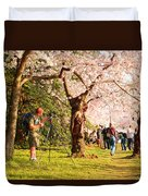 Cherry Blossoms 2013 - 009 Duvet Cover