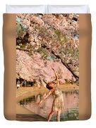 Cherry Blossoms 2013 - 077 Duvet Cover