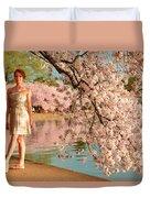 Cherry Blossoms 2013 - 080 Duvet Cover