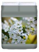 Cherry Flowers Duvet Cover