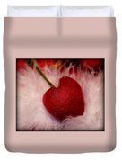 Cherry Heart Duvet Cover