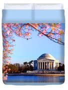 Cherry Jefferson Duvet Cover