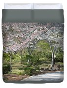 Cherry Lane Series  Picture A Duvet Cover