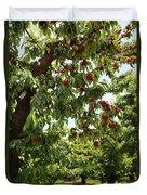 Cherry Orchard  Duvet Cover