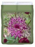 Cherry-queen Of The Prairie Flower Duvet Cover