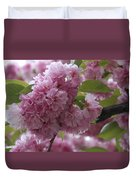 Cherry Tree Blossoms Duvet Cover
