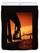 Chesapeake Bay Bridge Duvet Cover