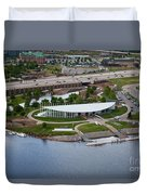 Chesapeake Boathouse  Duvet Cover by Cooper Ross